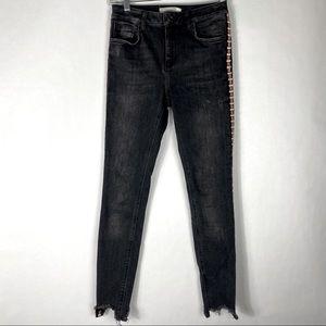 Zara Premium Black Denim Jeans